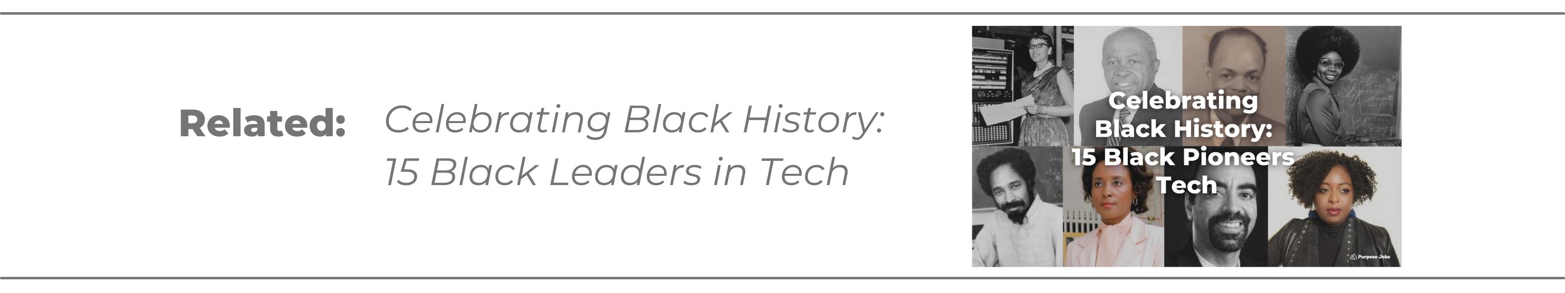 black leaders in tech