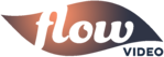 Flow Video Logo - MAIN - Orange Blue
