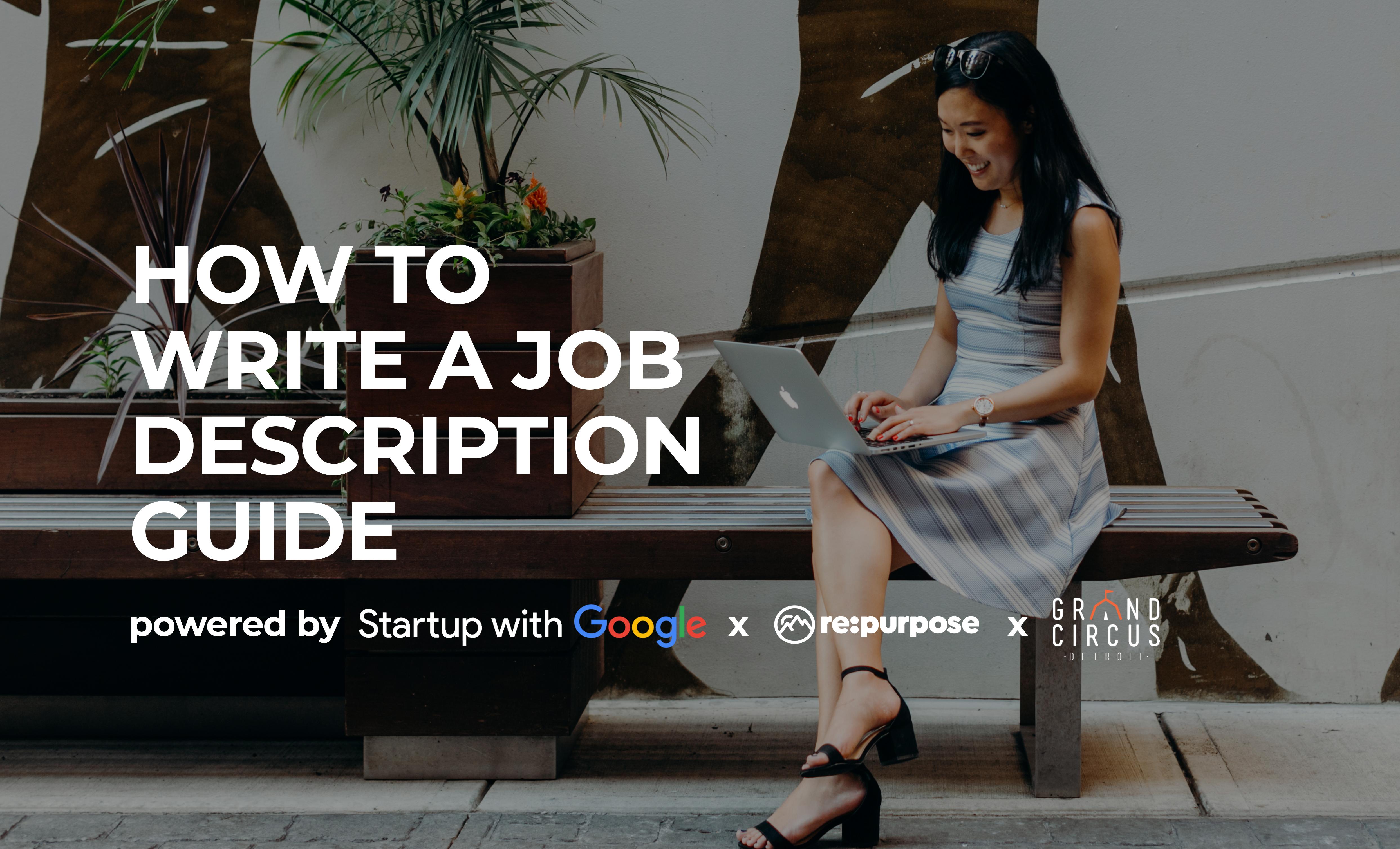 How to Write a Job Description Guide