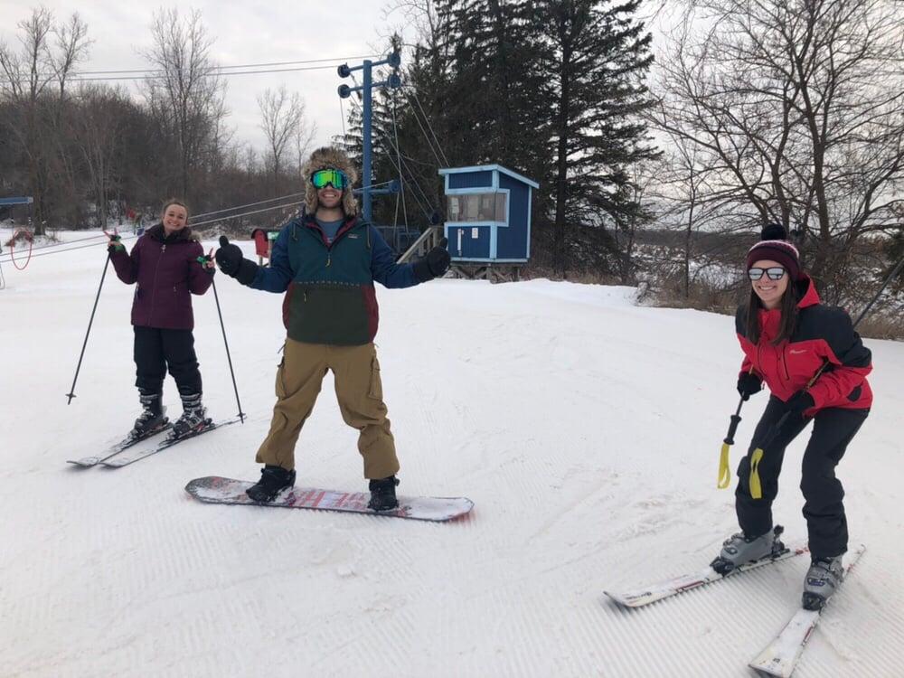 Ski Night Team Lauren Mayce Luke