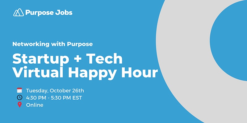 happy hour and virtual networking