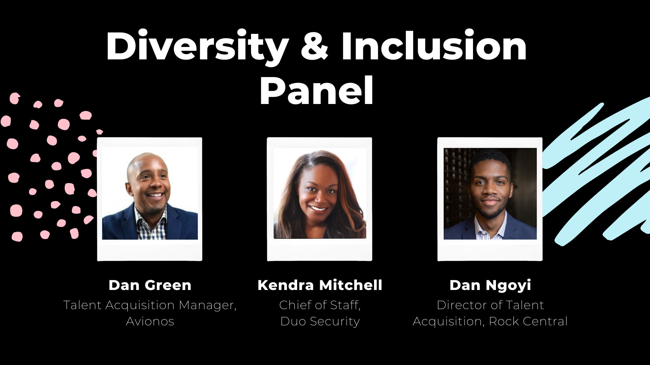 diversity and inclusion panel