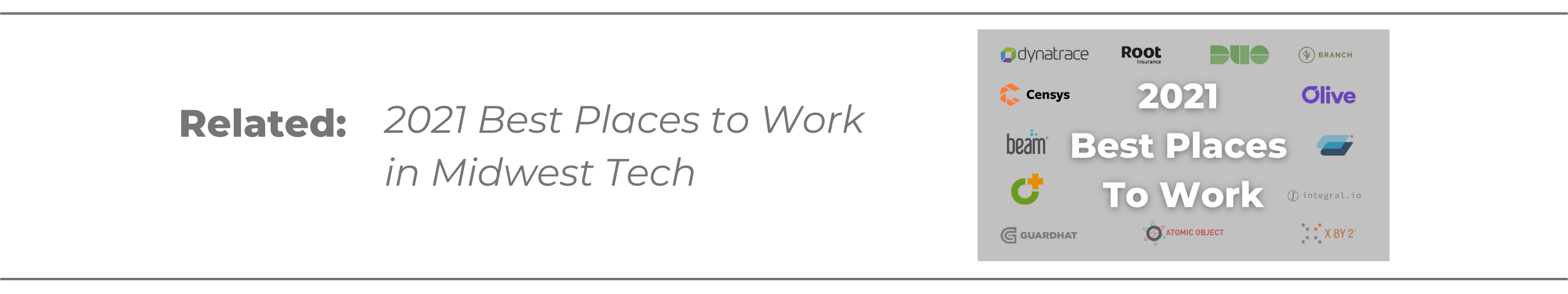 best places to work midwest tech