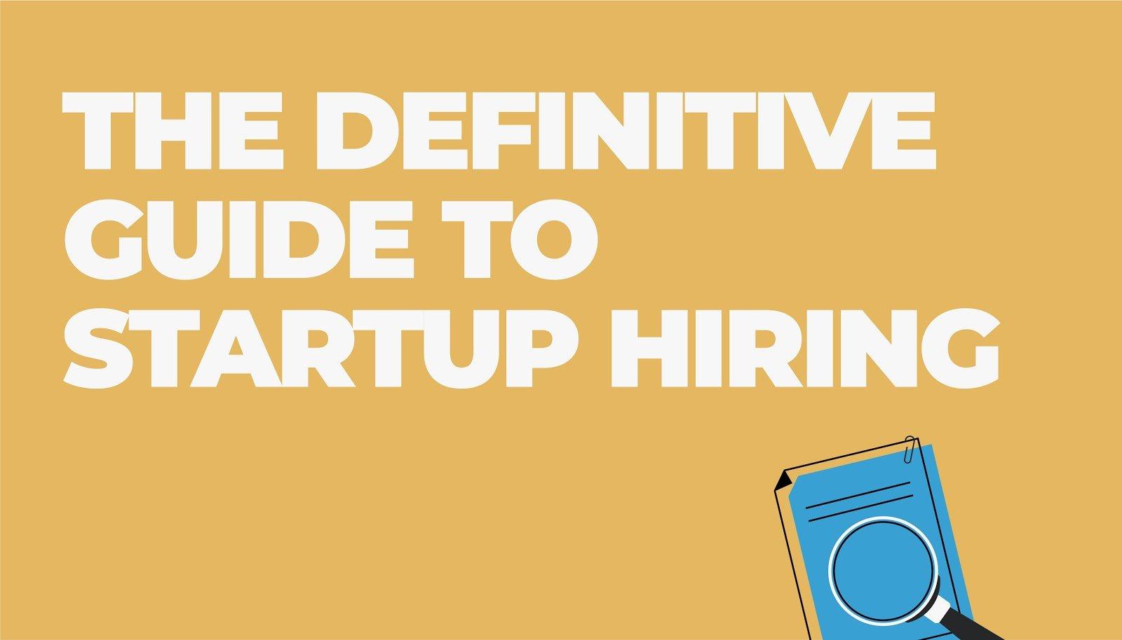 startup hiring guide hero