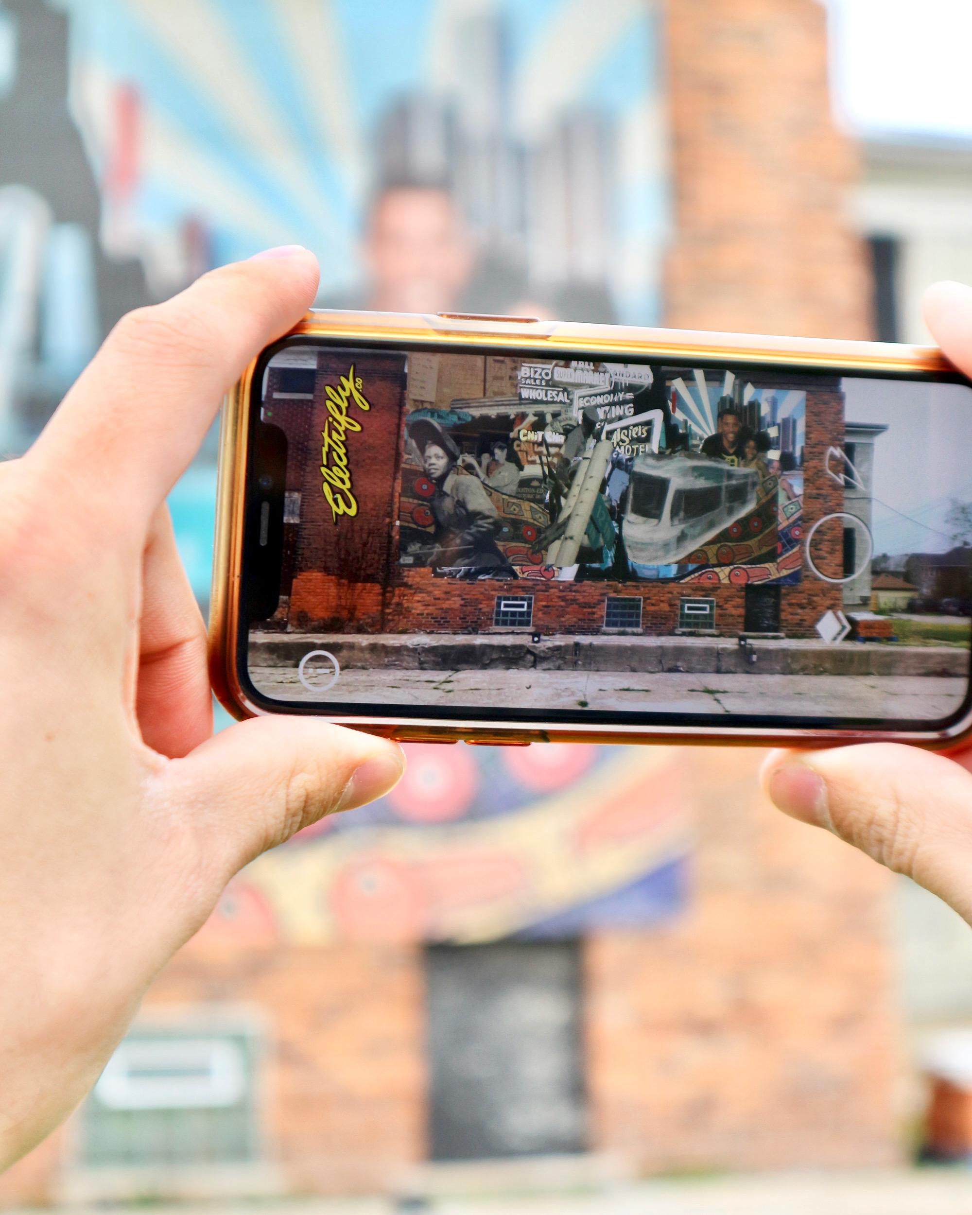 Augmented Reality Art Festival Celebrates Detroit's Murals & Tech