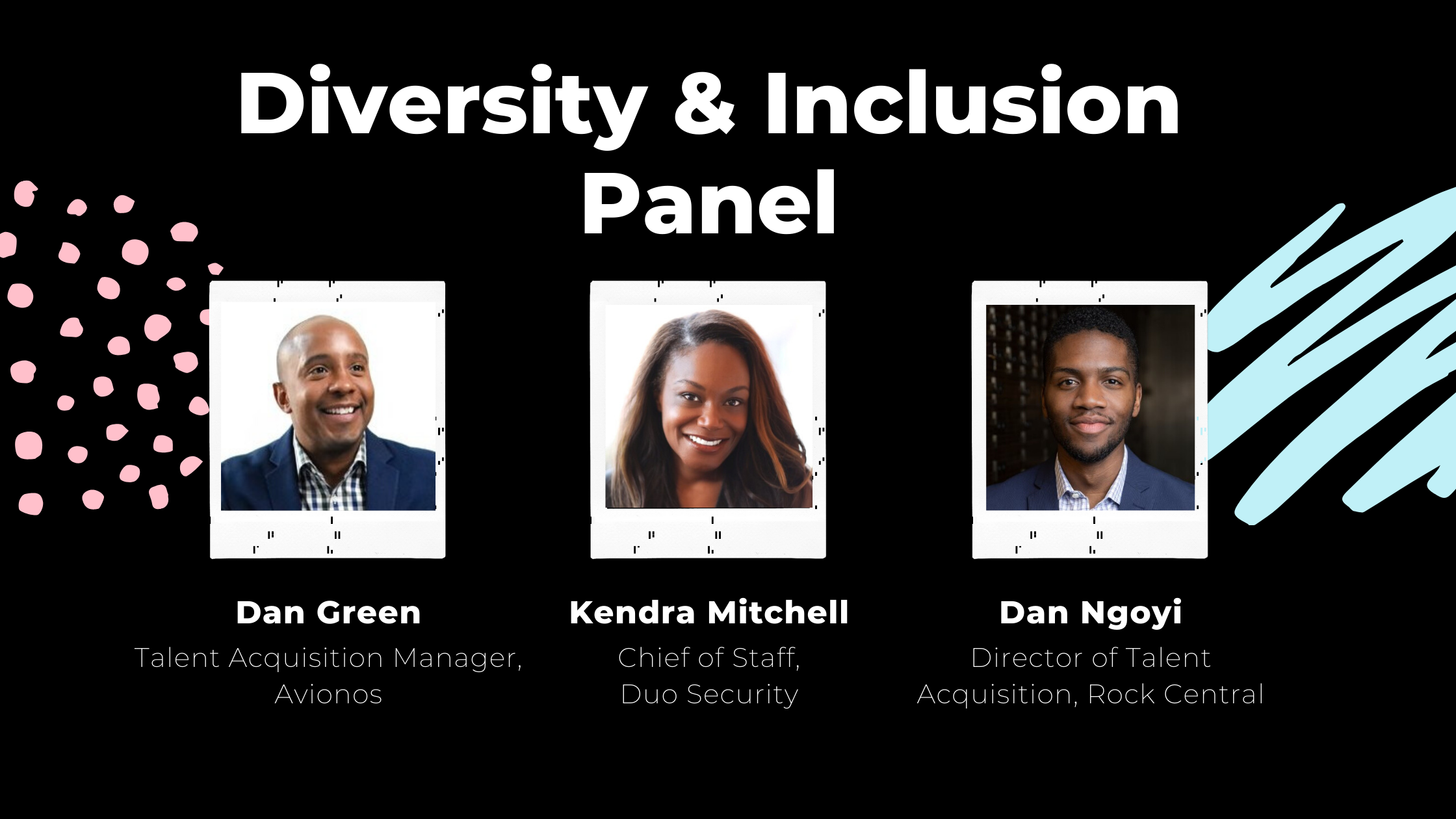 Keep That Same Energy: What We Learned at the Diversity and Inclusion Panel