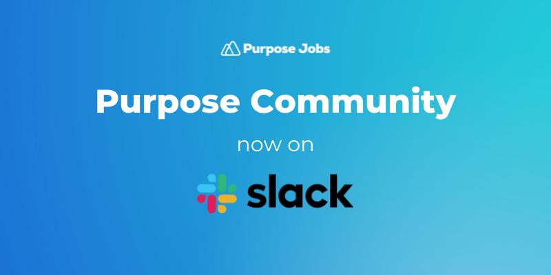 We're launching a Slack community!