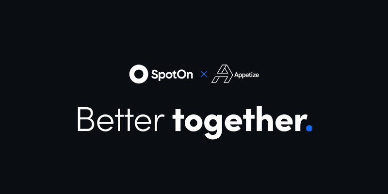 SpotOn Raises $300M, acquires Appetize and ups valuation to $3.15B